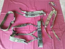 3 Suspenders NSN: 8465-00-001-6471 and 2 Utility Belts NSN:8465-01-322-1965 in Fort Benning, Georgia