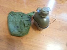 Canteen with metal cup and Cover and 2 extra Caps in Fort Benning, Georgia