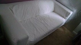 IKEA couch with cover in Quantico, Virginia
