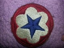 This is a World War II vintage item, a shoulder patch assigned to service forces members in 29 Palms, California
