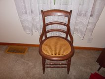 Vintage Cane Seat Victorian Corner Chair in Kansas City, Missouri