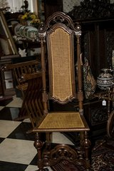 Vintage FRENCH Church Chair CANE  at 19 Ct. in Ramstein, Germany