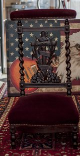 19th-Century-FRENCH antique-collectible-prayer-Chair-gothic . in Ramstein, Germany