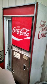 Coke machine in Alamogordo, New Mexico