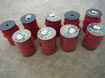 50 ft Spools of Beads in 29 Palms, California