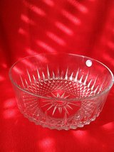 Crystal Serving Bowl (DR) in Oswego, Illinois