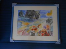 Beautiful framed Aquarell - no cheap copy!!! in Grafenwoehr, GE
