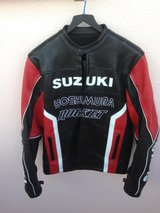 Leather Motorcycle Racing Jacket in Okinawa, Japan