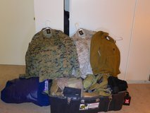 Mil gear rummage sale in Camp Pendleton, California
