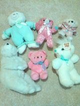 6 pink and white bears. in Houston, Texas