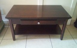 Walnut Wood Coffee Table in Conroe, Texas