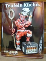 Kaiserslautern Soccer Team Devil metal sign Limited Edition! in Ramstein, Germany