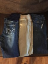 maternity jeans sz. med.(3 pairs) in Pleasant View, Tennessee