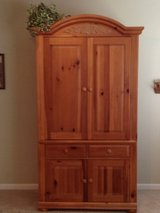 Solid Wood Armoire in Joliet, Illinois