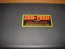 Cen-Tech Rotary Laser Level w/tripod Model 92801 in Camp Lejeune, North Carolina