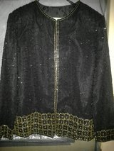 Beautiful Black and Gold Beaded Jacket in 29 Palms, California