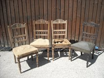 set of 4 Victorian dinning room chairs in Lakenheath, UK