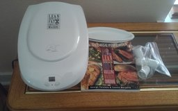 George Foreman Lean Mean Fat Grilling Machine in Conroe, Texas