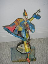 Paper Mache Clown Set in Kingwood, Texas