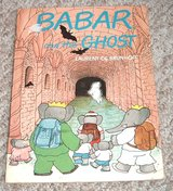 Babar and the Ghost Vintage 1981 Halloween book by Laurent De Brunhoff in Oswego, Illinois