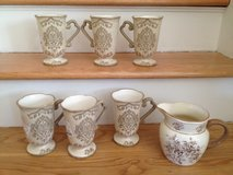 6 Mugs & Pitcher Set in Palatine, Illinois