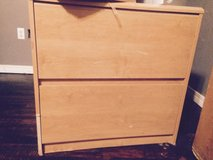 wooden file cabinet in Eglin AFB, Florida