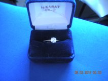 Ladies Solitaire Diamond Ring in Barstow, California
