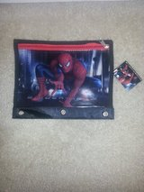 Spiderman Three-3 Ring Pencil Pouch with Zipper in Camp Lejeune, North Carolina