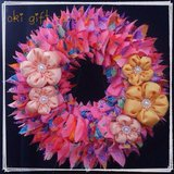 Great Gift! Okinawan style Kimono wreath (pink) in Okinawa, Japan