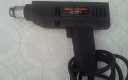 "1/4"" Black & Decker Drill in Conroe, Texas"