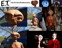 "E.T. actual full size prop casting of.... ""The Extra Terrestrial"", Ltd Edition #1503 in Glendale Heights, Illinois"