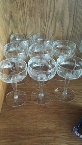 Crystal Glasses set of 8 in Perry, Georgia