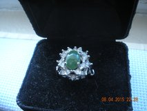 Jade & Diamond Ring in Barstow, California
