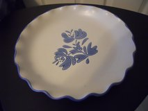 Pfiltzgraff Yorktowne Flouted Cake or Serving Plate in Baytown, Texas