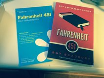 Fahrenheit book w/spark notes in Naperville, Illinois