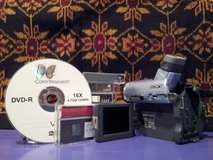 Transfer videos from mini dv to dvd in St. Charles, Illinois