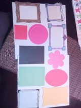 Scrapbooking photo frame in Naperville, Illinois