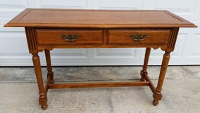 Broyhill Oak Sofa Table in Fort Campbell, Kentucky