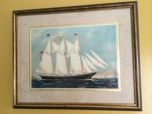 Clipper Ship -American Flag in Camp Lejeune, North Carolina
