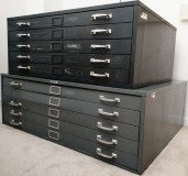 Large Metal Lateral File Cabinets in Naperville, Illinois