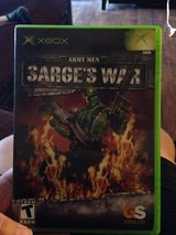 Sarge's war for original Xbox or Xbox 360 in Barstow, California