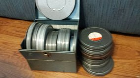 Movie reels in Tomball, Texas