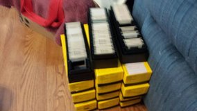 single trays of slides. in Tomball, Texas