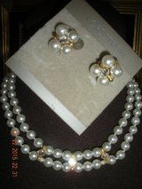 Pearl Choker and Earrings in Barstow, California