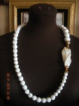 White Bead Necklace in Barstow, California