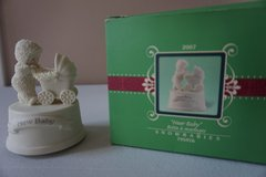 "Snowbabies Celebrations ""New Baby"" Message Box 795976 in Batavia, Illinois"