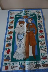 Wedding Anniversaries Gift Tapestry in Chicago, Illinois