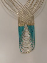 Silver & Turquoise Necklace MUST SEE in Alamogordo, New Mexico