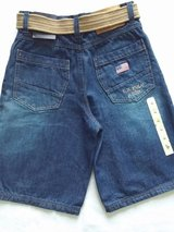 Nwt U.S Polo jean shorts size 16 in Joliet, Illinois