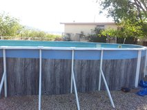 ALL New pool liner / perfect pool bottom & gorrilla pad for 15 x 30 oval above ground pool in Alamogordo, New Mexico